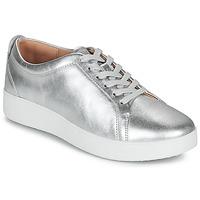 Παπούτσια Γυναίκα Χαμηλά Sneakers FitFlop RALLY SNEAKERS Silver