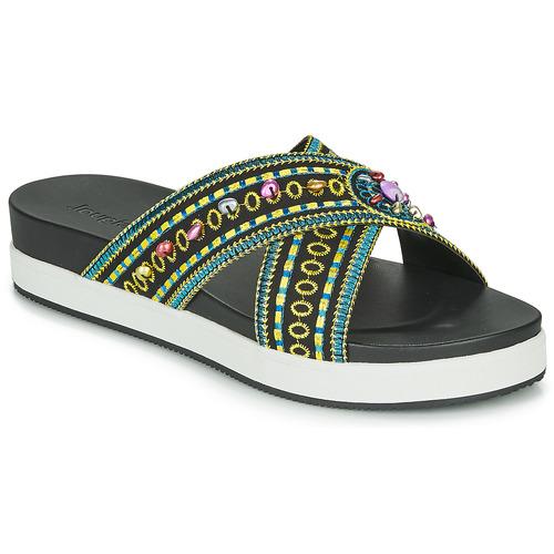 Παπούτσια Γυναίκα Τσόκαρα Desigual SHOES_NILO_BEADS Black