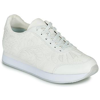 Παπούτσια Γυναίκα Χαμηλά Sneakers Desigual GALAXY LOTTIE Άσπρο