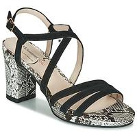 Παπούτσια Γυναίκα Σανδάλια / Πέδιλα Metamorf'Ose GABARIT Black / Python