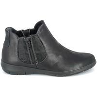 Παπούτσια Γυναίκα Μπότες Boissy Boots Noir texturé Black
