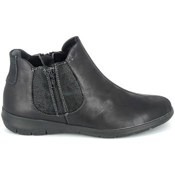 Μπότες Boissy Boots Noir texturé