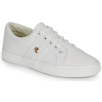 Παπούτσια Γυναίκα Χαμηλά Sneakers Lauren Ralph Lauren JANSON II Άσπρο
