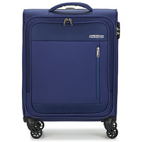 Τσάντες Valise Souple American Tourister HEAT WAVE 55CM Marine