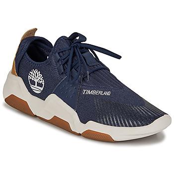Παπούτσια Άνδρας Χαμηλά Sneakers Timberland EARTH RALLY FLEXIKNIT OX Μπλέ