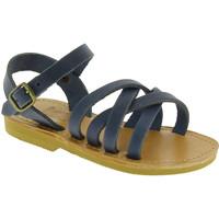 Παπούτσια Άνδρας Σανδάλια / Πέδιλα Attica Sandals HEBE NUBUK BLUE blu