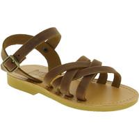 Παπούτσια Κορίτσι Σανδάλια / Πέδιλα Attica Sandals HEBE NUBUK DK BROWN Marrone medio