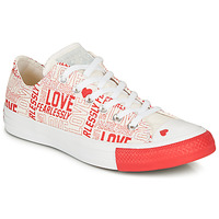 Παπούτσια Γυναίκα Χαμηλά Sneakers Converse CHUCK TAYLOR ALL STAR - OX Ασπρό / Κοκκινο