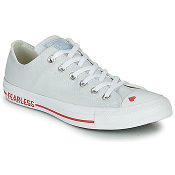 Παπούτσια Γυναίκα Χαμηλά Sneakers Converse CHUCK TAYLOR ALL STAR LOVE CANVAS - OX Ασπρό / Red