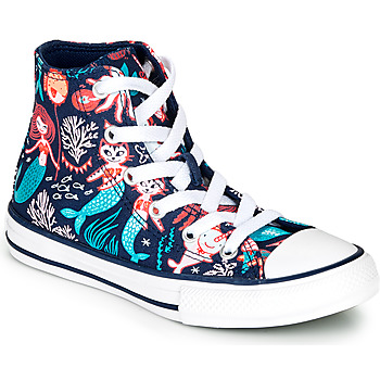 Παπούτσια Κορίτσι Ψηλά Sneakers Converse CHUCK TAYLOR ALL STAR UNDERWATER PARTY Μπλέ