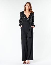 Υφασμάτινα Γυναίκα Ολόσωμες φόρμες / σαλοπέτες Lauren Ralph Lauren Alexis Black