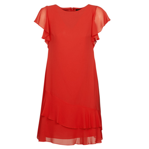Υφασμάτινα Γυναίκα Κοντά Φορέματα Lauren Ralph Lauren Arolde Red