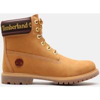 Παπούτσια Γυναίκα Μποτίνια Timberland 6in prem w/sock colar Καφέ