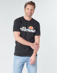 Υφασμάτινα Άνδρας T-shirt με κοντά μανίκια Ellesse SL  PRADO Black