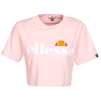 Υφασμάτινα Γυναίκα T-shirt με κοντά μανίκια Ellesse ALBERTA Ροζ