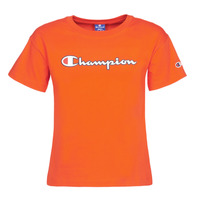 Υφασμάτινα Γυναίκα T-shirt με κοντά μανίκια Champion KOOLATE Red