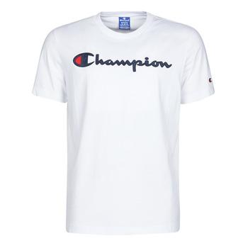 Υφασμάτινα Άνδρας T-shirt με κοντά μανίκια Champion 214194 Άσπρο