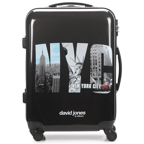 Τσάντες Valise Rigide David Jones STEBI 53L Black