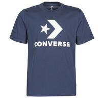 Υφασμάτινα Άνδρας T-shirt με κοντά μανίκια Converse Star Chevron Tee Obsidian