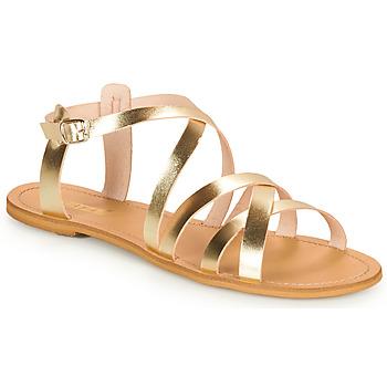 Παπούτσια Γυναίκα Σανδάλια / Πέδιλα So Size IDITRON Gold