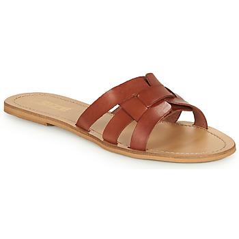 Παπούτσια Γυναίκα Τσόκαρα So Size MELINDA Camel