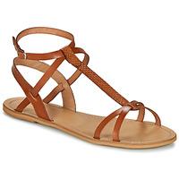 Παπούτσια Γυναίκα Σανδάλια / Πέδιλα So Size BEALO Camel