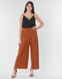 Υφασμάτινα Γυναίκα Παντελόνες / σαλβάρια Moony Mood MERONAR Rouille