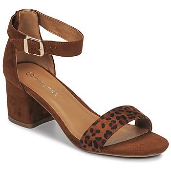 Παπούτσια Γυναίκα Σανδάλια / Πέδιλα Moony Mood MEDIO Leopard