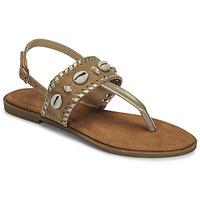 Παπούτσια Γυναίκα Σανδάλια / Πέδιλα Moony Mood MARISE Beige