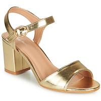 Παπούτσια Γυναίκα Σανδάλια / Πέδιλα Moony Mood MEGANE Gold