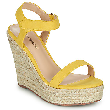 Παπούτσια Γυναίκα Σανδάλια / Πέδιλα Moony Mood MARTA Yellow