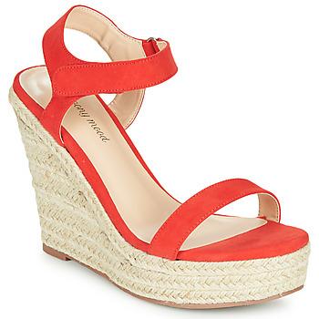 Παπούτσια Γυναίκα Σανδάλια / Πέδιλα Moony Mood MARLEINE Red
