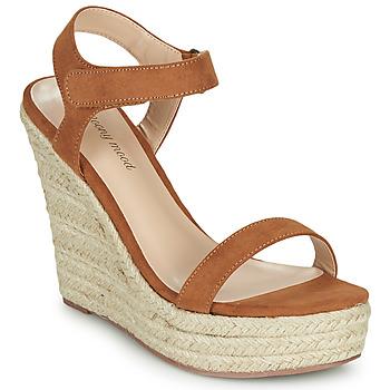 Παπούτσια Γυναίκα Σανδάλια / Πέδιλα Moony Mood MARLEINE Camel