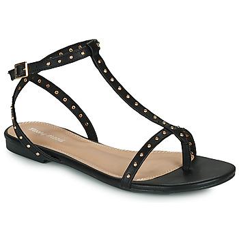 Παπούτσια Γυναίκα Σανδάλια / Πέδιλα Moony Mood MARIELLE Black