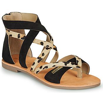 Παπούτσια Γυναίκα Σανδάλια / Πέδιλα Les Tropéziennes par M Belarbi POPS Black / Leopard