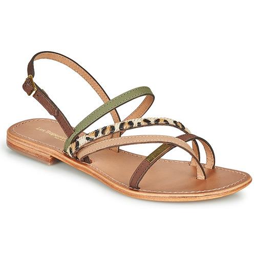 Παπούτσια Γυναίκα Σανδάλια / Πέδιλα Les Tropéziennes par M Belarbi HOUKA Kaki / Multi