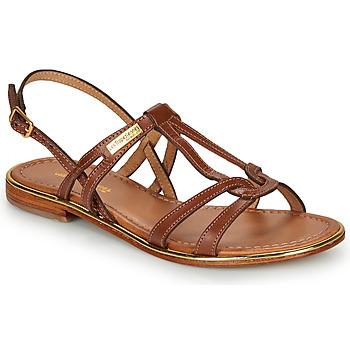 Παπούτσια Γυναίκα Σανδάλια / Πέδιλα Les Tropéziennes par M Belarbi HACKLE Tan