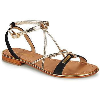 Παπούτσια Γυναίκα Σανδάλια / Πέδιλα Les Tropéziennes par M Belarbi HIRONBUC Black / Dore