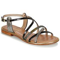 Παπούτσια Γυναίκα Σανδάλια / Πέδιλα Les Tropéziennes par M Belarbi HARRY Black / Multi