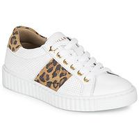 Παπούτσια Κορίτσι Χαμηλά Sneakers Bullboxer LORIS Άσπρο / Leopard