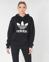 Υφασμάτινα Γυναίκα Φούτερ adidas Originals TRF HOODIE Black