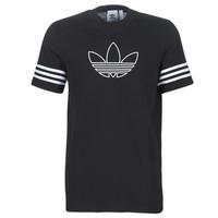 Υφασμάτινα Άνδρας T-shirt με κοντά μανίκια adidas Originals OUTLINE TEE Black
