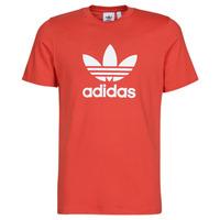 Υφασμάτινα Άνδρας T-shirt με κοντά μανίκια adidas Originals TREFOIL T-SHIRT Red / Luxuriant
