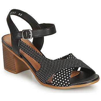 Παπούτσια Γυναίκα Σανδάλια / Πέδιλα Remonte Dorndorf MOSKI Black / Άσπρο