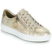 Παπούτσια Γυναίκα Χαμηλά Sneakers Rieker LIROS Gold