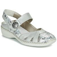 Παπούτσια Γυναίκα Σανδάλια / Πέδιλα Rieker KYLIAN Silver