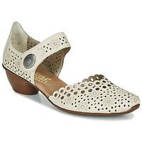 Παπούτσια Γυναίκα Γόβες Rieker KIRIN Beige