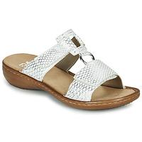 Παπούτσια Γυναίκα Σανδάλια / Πέδιλα Rieker MOLLY Silver