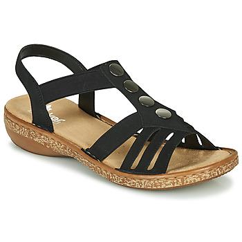 Παπούτσια Γυναίκα Σανδάλια / Πέδιλα Rieker NEX Black