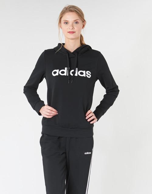 Υφασμάτινα Γυναίκα Φούτερ adidas Performance E LIN OH HD Black